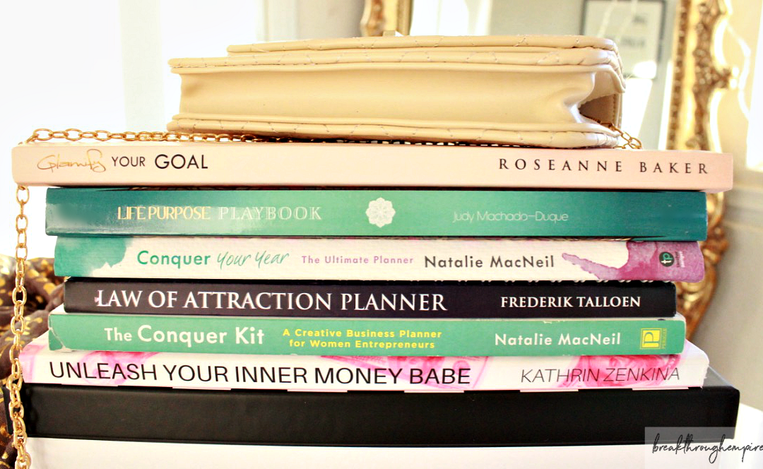 goal setting planners and books breakthrough empire